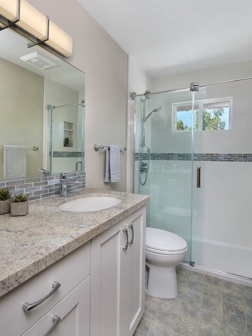 Bathroom design ideas renovations photos with vinyl for Bath remodel financing