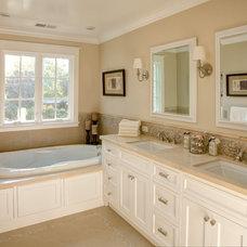 Traditional Bathroom by Allwood Construction Inc