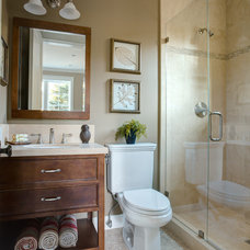 traditional bathroom by Allwood Construction Inc