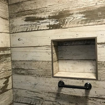 Menlo Park Rustic Bathroom Remodeling
