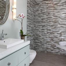 Contemporary Bathroom by Ruth Livingston Studio