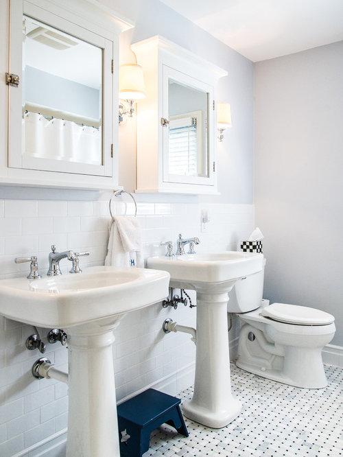 houzz  basketweave floor tile design ideas  remodel pictures, Home decor