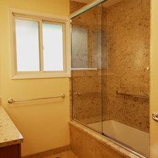 Traditional Bathroom by Creative Kitchen & Bath