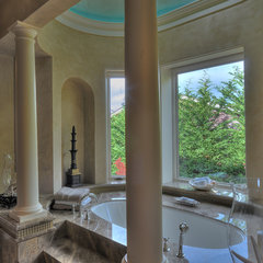 mediterranean bathroom by Jeff Fotheringill