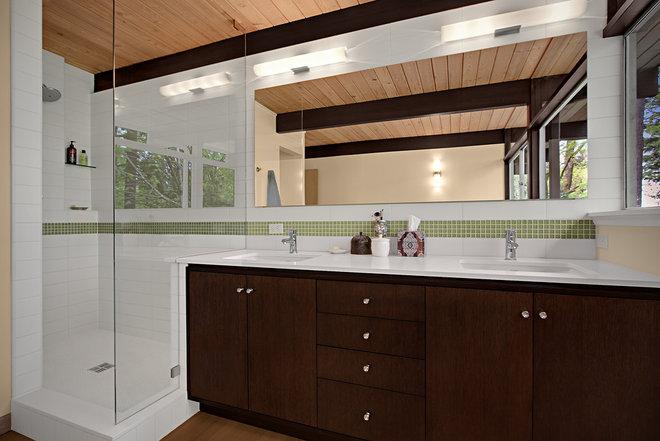 Midcentury Bathroom by Ryan Rhodes Designs, Inc.