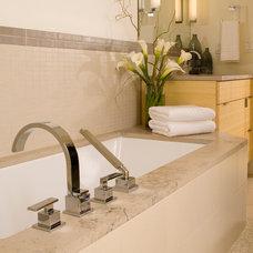 Modern Bathroom by Six Walls Interior Design
