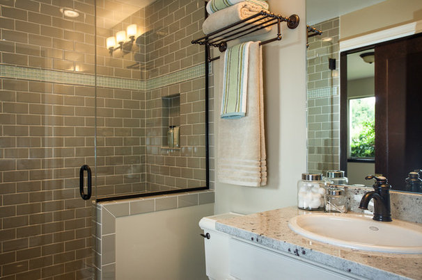 Traditional Bathroom by Kimberlee Marie Interior Design