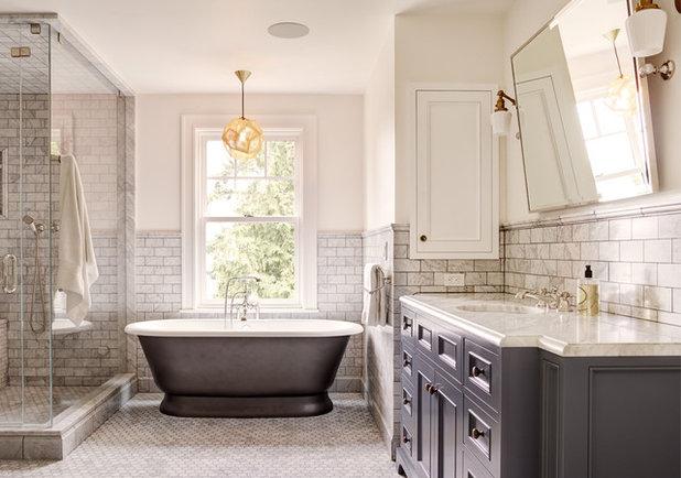 Traditional Bathroom by Barnett Lewis