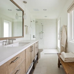modern bathroom by CJ Design Group, LLC