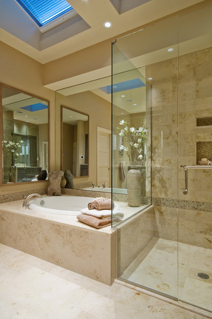 Contemporary Bathroom by Lakeville Homes