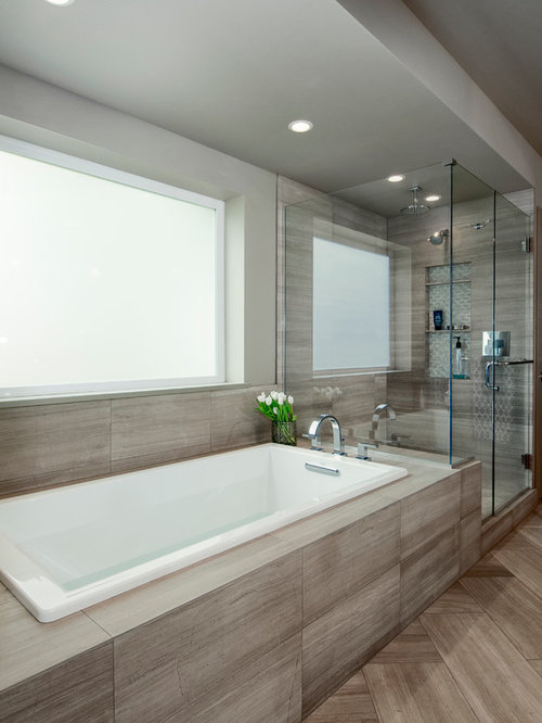 Medium Sized Contemporary Bathroom Design Ideas ...