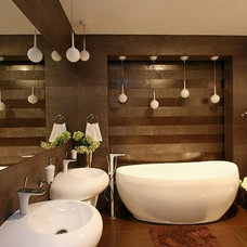 Contemporary Bathroom by SVOYA studio