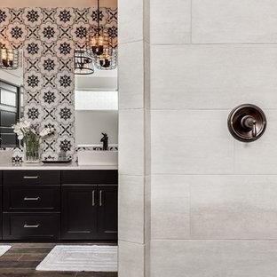Inspiration för lantliga badrum