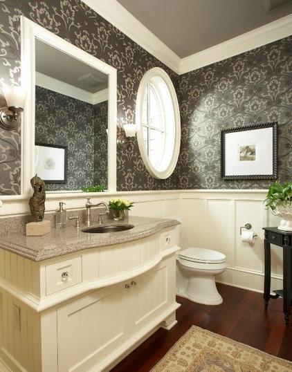 Traditional Bathroom by Martha O'Hara Interiors