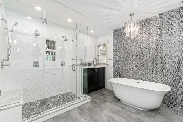 Transitional Bathroom by LEAN Home Remodeling