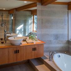 Rustic Bathroom by Martin Knowles Photo/Media