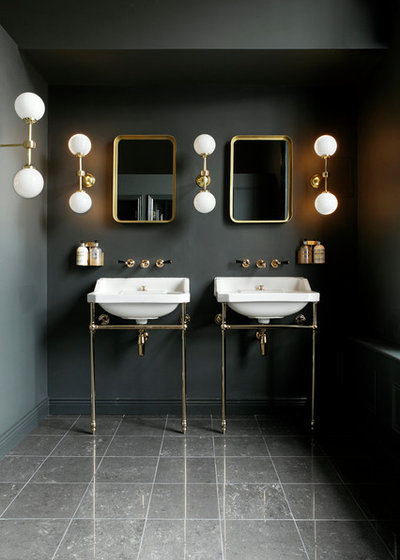 Get inspired by 17 statement making bathroom sinks for Bathroom design restaurant