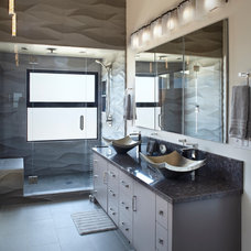 Contemporary Bathroom by Allen Construction