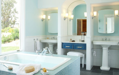 Bathroom Storage: Where to Keep the Towels