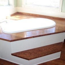 Traditional Bathroom by WR Woodworking