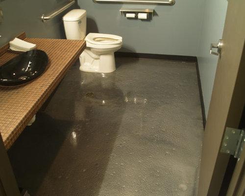 Metallic Epoxy Floor Home Design Ideas Pictures Remodel