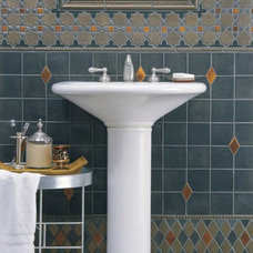 Eclectic Bathroom by Pratt and Larson Ceramics