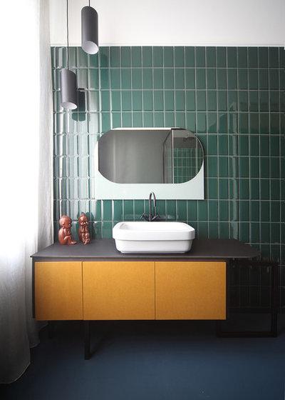 13 schicke badezimmer mit metro fliesen. Black Bedroom Furniture Sets. Home Design Ideas