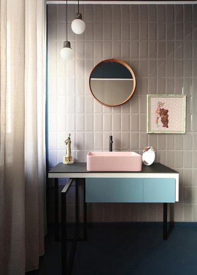 Skandinavisch Badezimmer By Marcante Testa