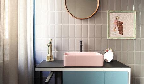 Просто фото: Цветная сантехника — 26 модных идей
