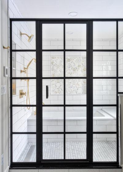 Modern Bathroom by KraftMaster Renovations
