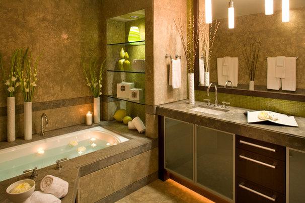 Contemporary Bathroom by Robin Wilson Interior Design