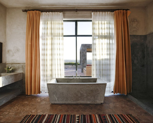 Example Of A Southwest Bathroom Design In New York