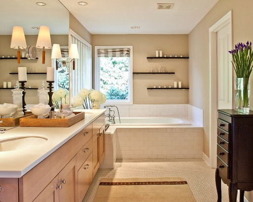Bathroom Floating Shelves Home Design Ideas, Pictures, Remodel and ...