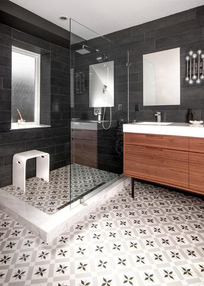 Contemporary Bathroom by Stephani Buchman Photography