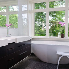Modern Bathroom by Stephani Buchman Photography