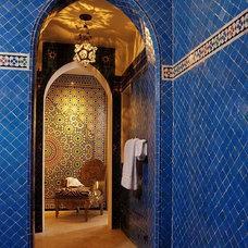 Mediterranean Bathroom by Chris Barrett Design