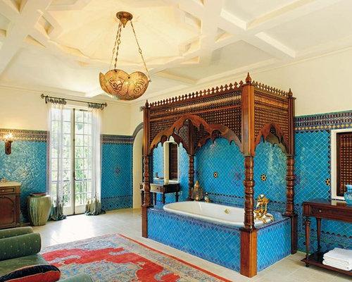 Best Blue Tile Bathroom Design Ideas Remodel Pictures – Blue Tile Bathroom