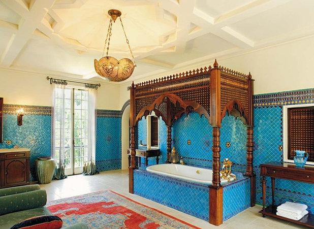 Orientalisches Bad safrangelb und schimmer so zieht orientalischer zauber bei uns ein