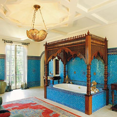 mediterranean bathroom by Chris Barrett Design