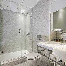 Modern Bathroom by SLATE Construction Services