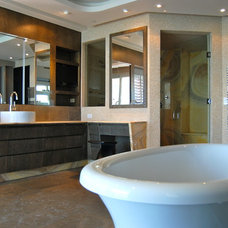 Contemporary Bathroom by Pepe Calderin Design- Modern Interior Design