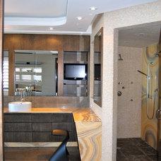 Contemporary Bathroom by Pepe Calderin Design- Modern Interior Design