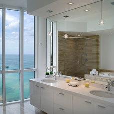 Modern Bathroom by Associated Design Co