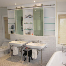 Transitional Bathroom by Bruce Lopez