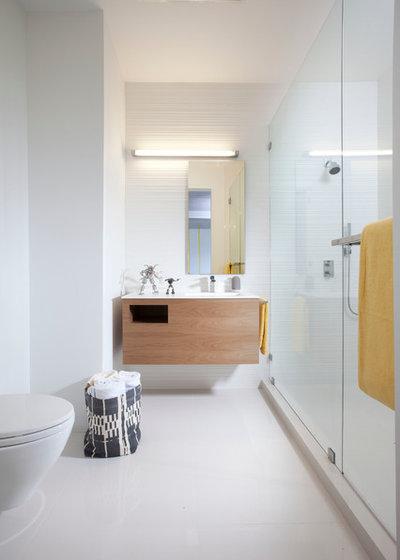 Popular Modern Bathroom by DKOR Interiors Inc Interior Designers Miami FL