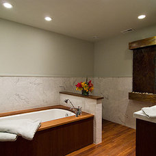 Modern Bathroom by Michael A. Menn