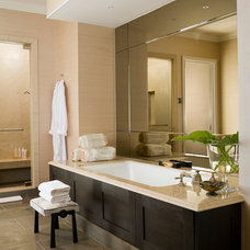 Modern Bathroom by Michael Molthan Luxury Homes Interior Design Group