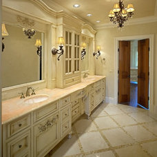 Traditional Bathroom by MICHAEL MOLTHAN LUXURY HOMES