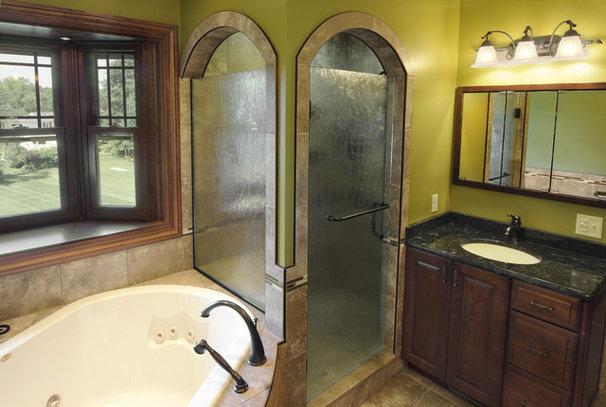 Mediterranean Bathroom by Hughes Kitchens & Bath