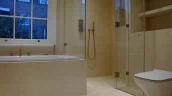 Microcement Bathroom - Mayfair, London